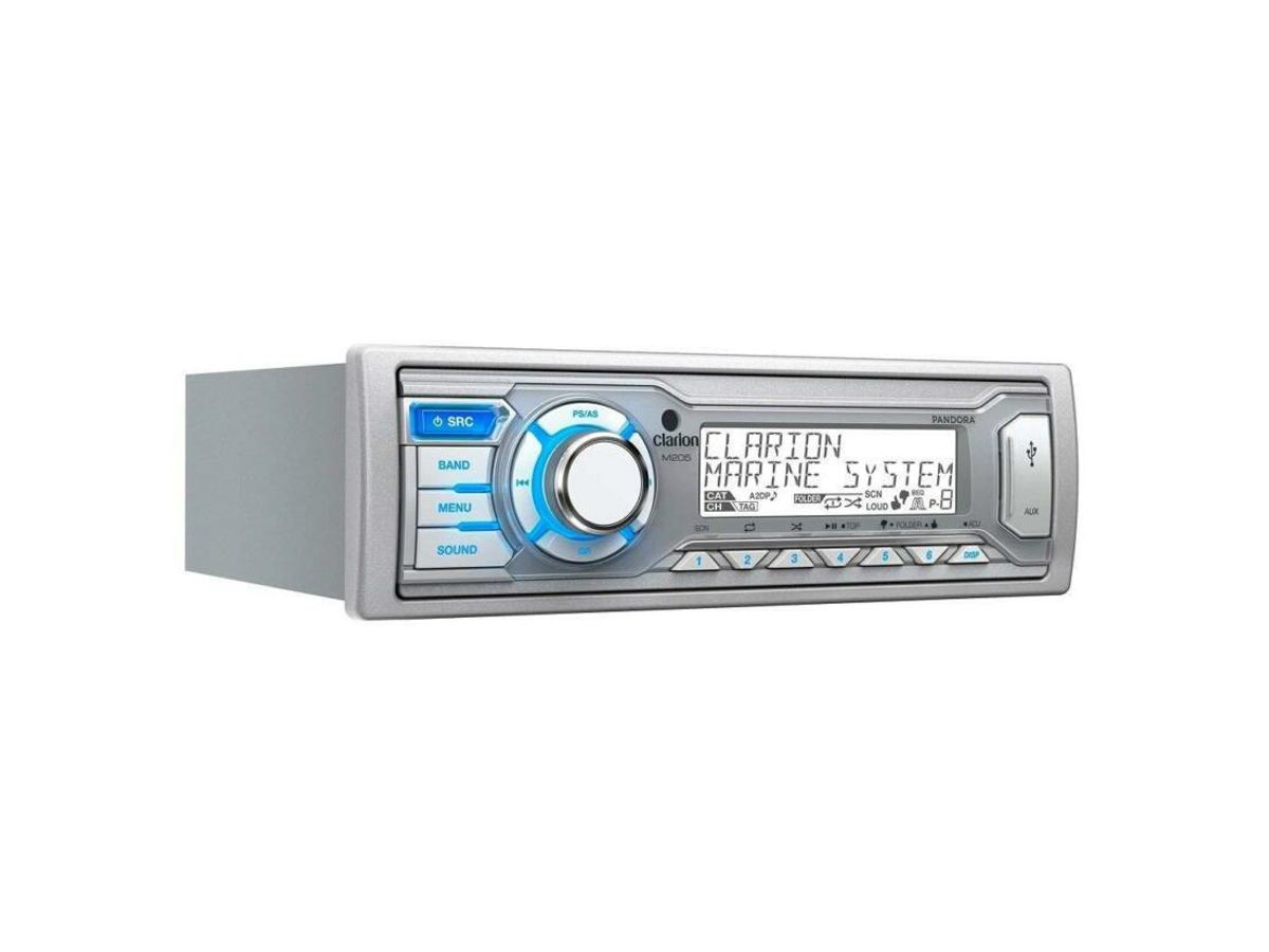 Cd Player Marinizado Clarion Marine M205 - USB/MP3