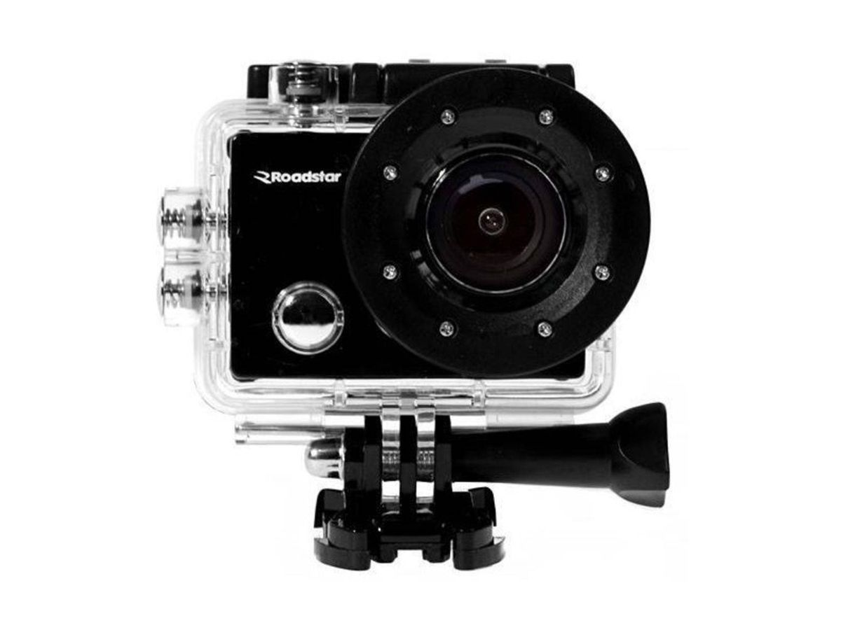 Câmera de Ação Roadstar RS-3300HD 5MP Full HD com Wi-Fi - Preto
