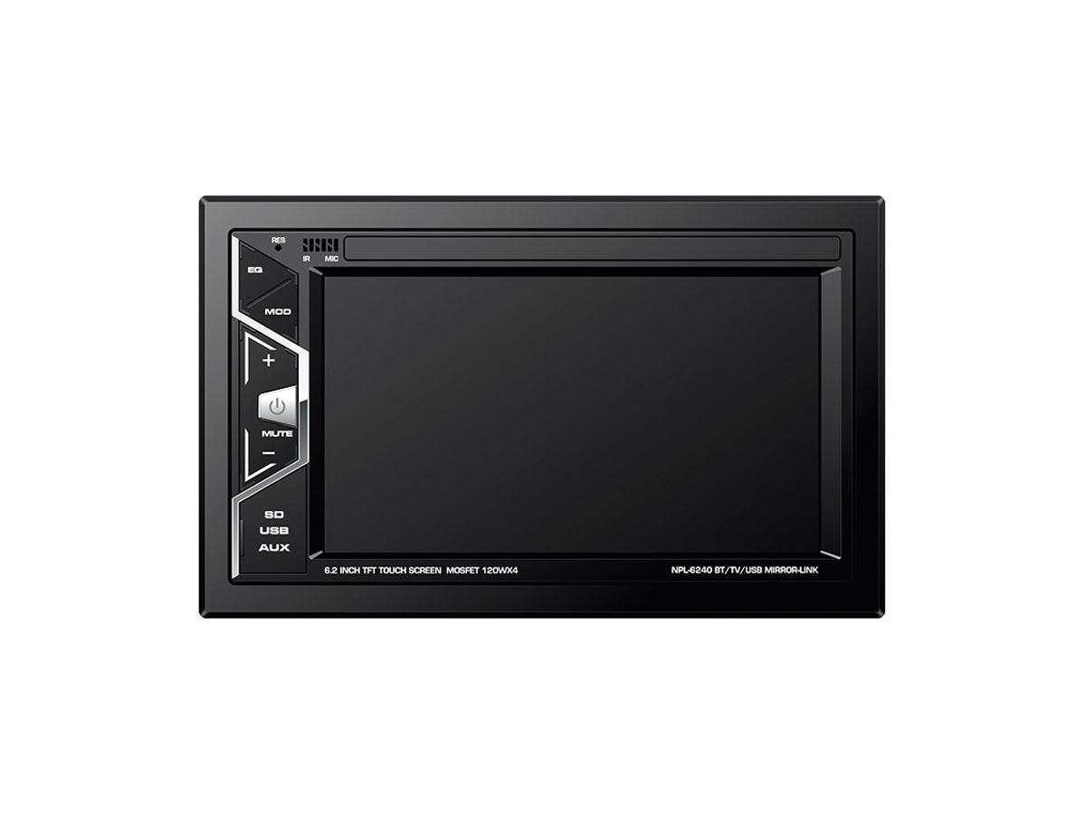 Central Multimídia Napoli 2din 6240 TOUCH-SCREEN / USB / BLUETOOTH