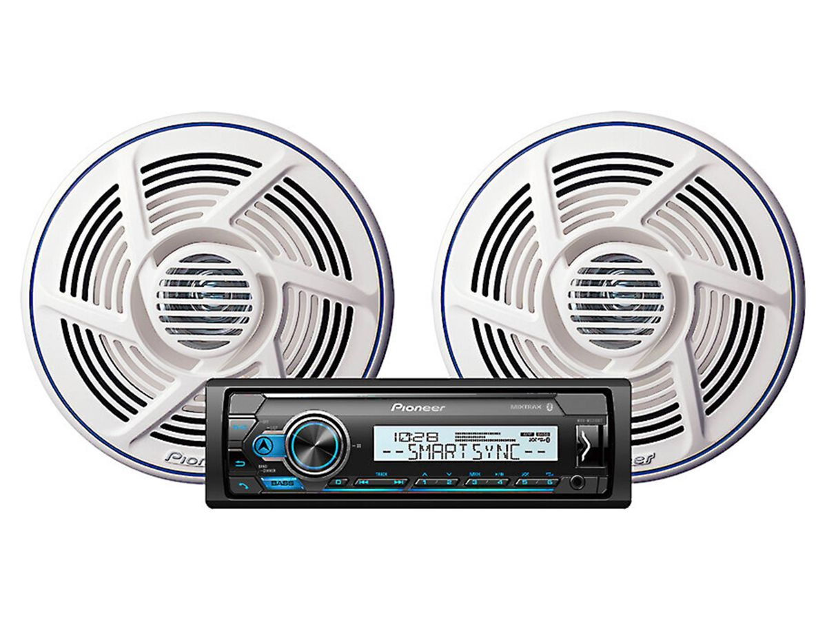 PIONEER CD MXT-MS316BT COMBO STEREO FALANTE 6.5