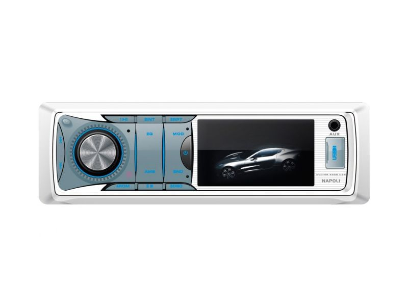 Toca Dvd Cd Mp3 Player Usb Sd Maritimo Napoli Dvd - MR 9358