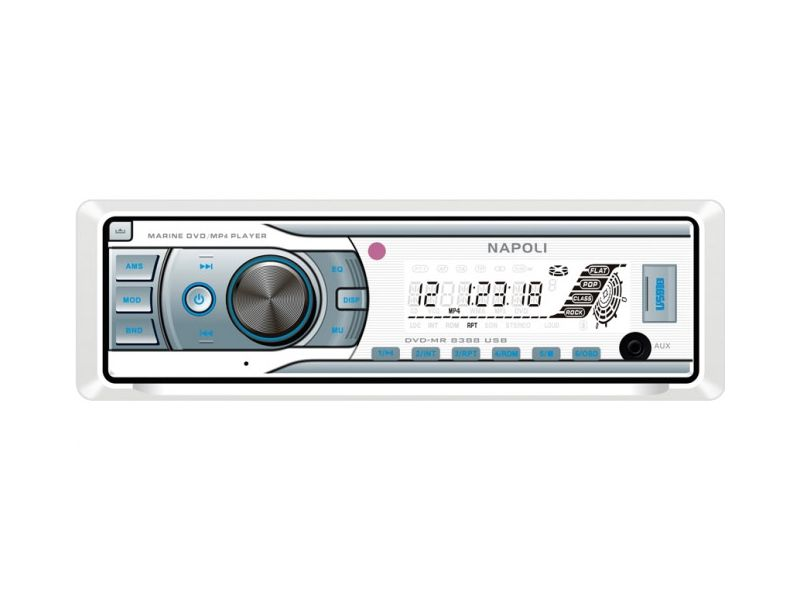 Toca Dvd Cd Mp3 Player Usb Sd Maritimo Napoli Dvd - MR 8388